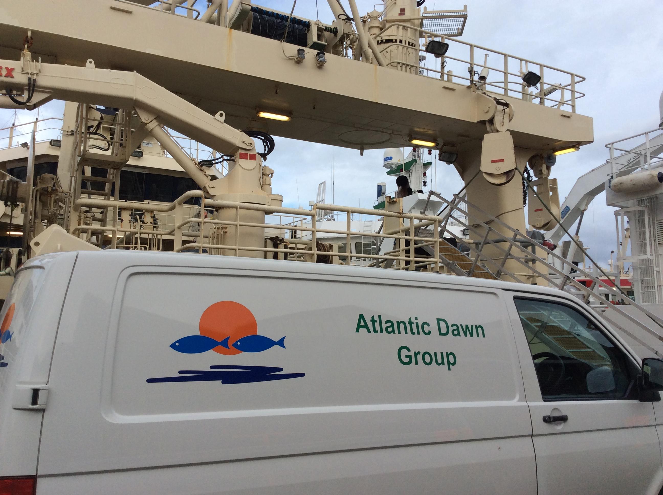 Vehicle of Atlantic Dawn Group