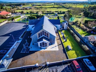 Aerial view of the RC Church Image courtesy Skyview Photography