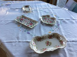 China pieces Di treasured for years. She gave me these at our last meeting in February 1999 (thesilvervoice)