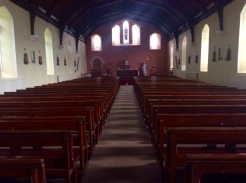 Edeninfagh Church looking towards altar
