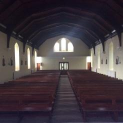 Edeninfagh Church view from altar.