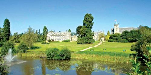 The-Carp-Filled-Lake-Ashdown-Park-Hotel-Prestigious-Venues