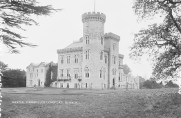 Castle Forbes, the seat of the Earls of Granard (Image accessed on Flickr)