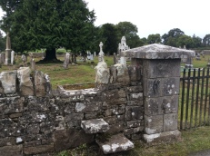 The 'old' catholic cemetery now largely unused