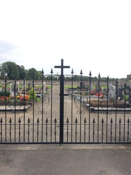 Entrance to the 'new' cemetery