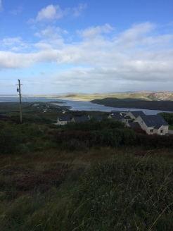 Rosguill and Fanad seperated by the Mulroy