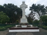 Celtic Cross honouring Robert Clements, the 4th Earl of Leitrim who did much to improve living conditions and employment opportunities.