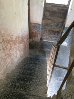 How many weary women went up and down these stairs while this building was in use?