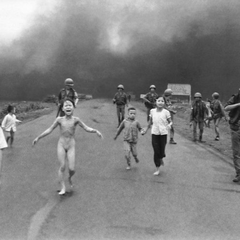 9 year old burned by Napalm (Image wikipedia)