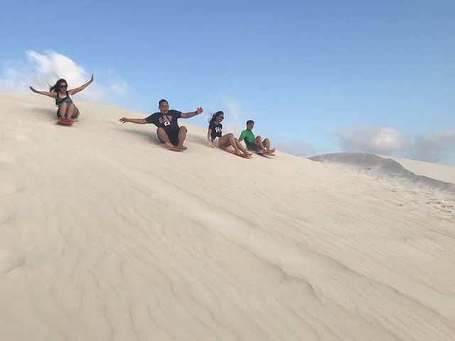 Sandboarding. (Image West Australia tourism)
